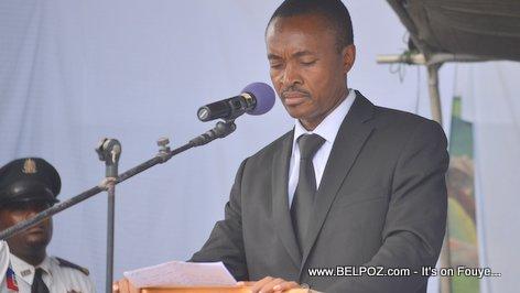 Photo - Hinche Haiti, Senator Fransisco Delacruz, Funerailles Victim DIFE Pump Gasoline