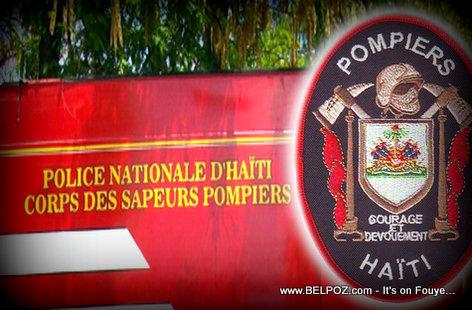 PHOTO: Haiti - Corps des Sapeur Pompiers