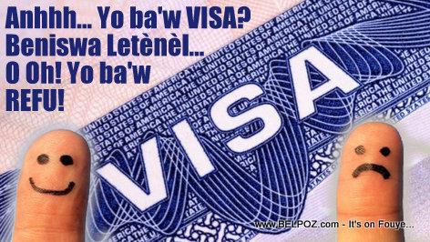 En Haiti, Yon VISA Americain se GWO Koze...