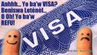 US Visa Fees : Haitian woman says she will go renew her US Visa when she has money to waste