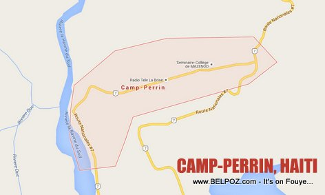 PHOTO: Camp-Perrin Haiti Map