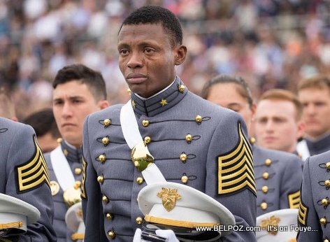 PHOTO: Haitian-American Cadet Cries as he Graduates from West Point