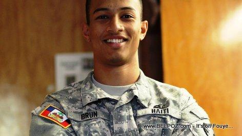 PHOTO: Haitian Cadet Pascal A. Brun, West Point Graduate