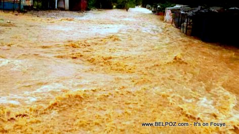 PHOTO: Haiti - Inondation nan Ville Leogane