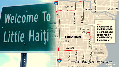 PHOTO: Little Haiti Miami Neighborhood Boundaries