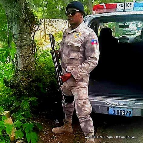 PHOTO: Haiti Police Officer Loubens Desrameaux