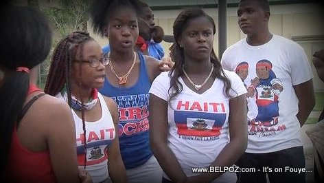 PHOTO: Haitian Sudents in Immokalee Hich School Florida