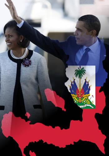 Obama In Haiti
