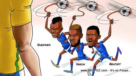 Haiti vs Brazil -  Copa America Centenario - Grenadiers Alaso...