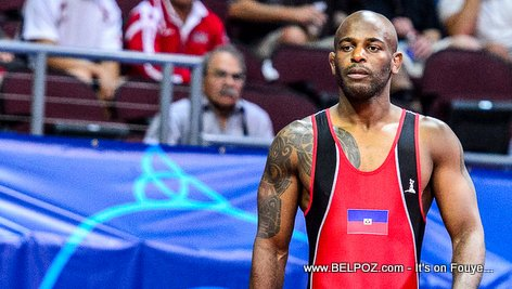 PHOTO: Asnage Castelly - Haitian Wrestler