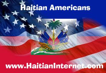 Haitian American Flag
