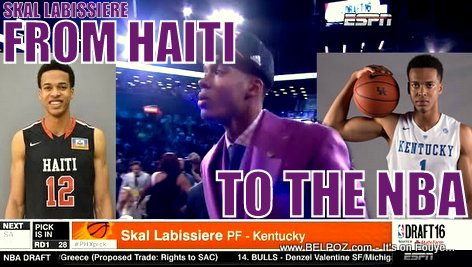 PHOTO: Skal Labissiere, From Haiti to the NBA