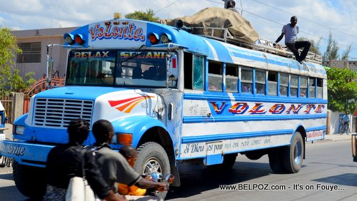 PHOTO: Haiti Bus Transport - VOLONTE