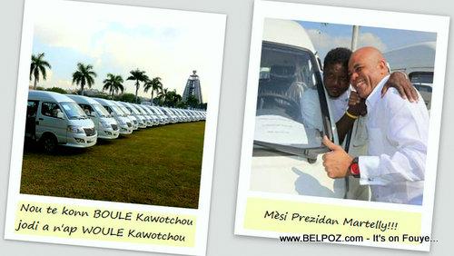 Haiti - Nou te konn BOULE Kawotchou, jodi a n'ap WOULE Kawotchou, Mèsi Prezidan Martelly!!!