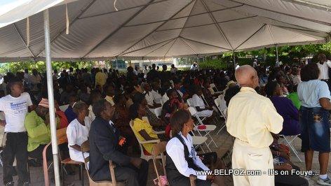 PHOTO: Haiti - Ordination Desinord Jean, nouvel Eveque de Hinche