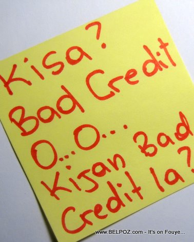 Haitians With Bad Credit