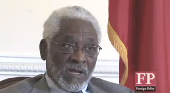 Raymond Joseph, Ambassador Of Haiti
