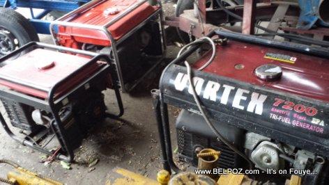 Haiti Generatrice - Bagay sa yo BOULE plis gaz nan peyi a ke machine