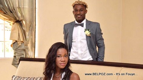 PHOTO: Haiti Soccer player Sony Norde Wedding Photo