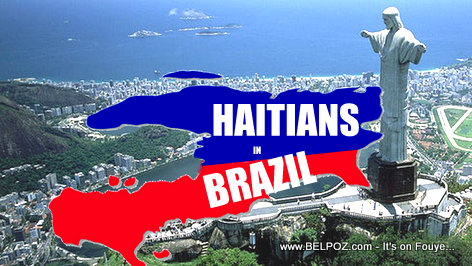 PHOTO: Haitians in Brazil