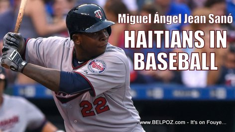 PHOTO: Miguel Sano - Haitians in Major League Baseball (MLB)