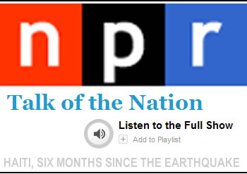 NPR Talk Of The Nation