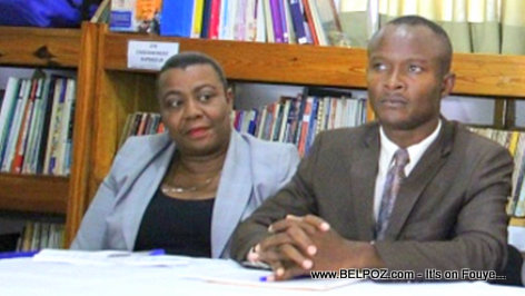 PHOTO: Haiti Education Nationale - DG Meniol Jeune, Nadine Henri