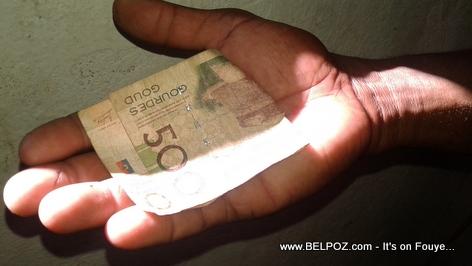 Haiti Currency - 500 Haitian Gourdes