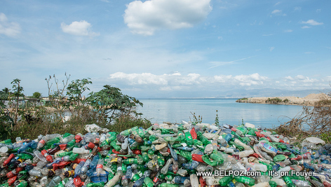 PHOTO: Plastics on Haiti Beaches