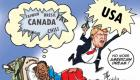 RE: PHOTO : Haiti Caricature : Trump says No more American Dream for young Haitians