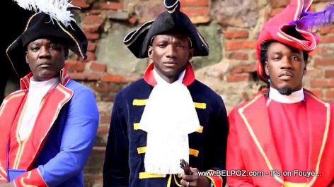 Ambyans Tet Dwat - Haitian Heroes Outfit