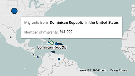 Surprise : There are more Dominican Immigrants living in the United States than Haitians