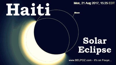 Haiti Solar Eclipse 2017 - Port-au-Prince, Haiti