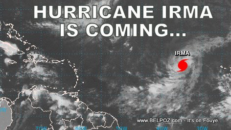 Hurricane Irma Is Coming...