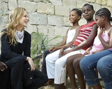 Nicole Kidman In Haiti