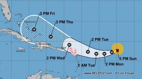 Hurricane Irma : Haiti Forecast Uddate : IRMA will Hit Haiti Thursday as a category 4 Hurricane