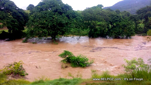 PHOTO: Haiti - Artibonite River Flooded after Hurricane Irma