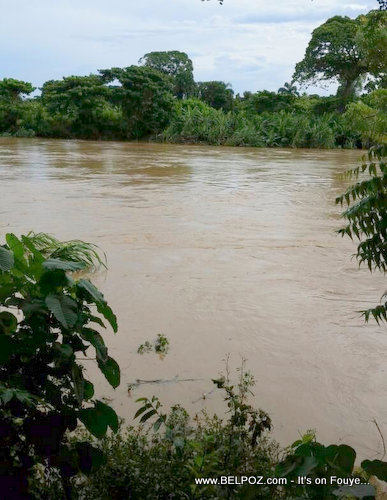 PHOTO: Haiti - Guayamounco River Flooded after Hurricane Irma