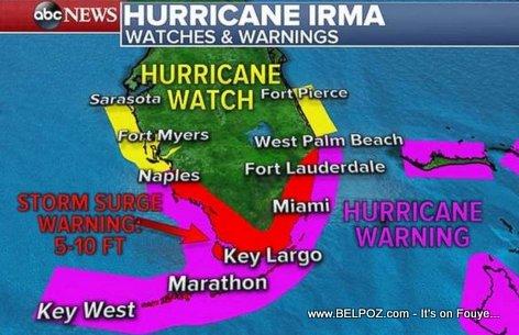 PHOTO: Hurricane Irma Florida Hurricane Watch