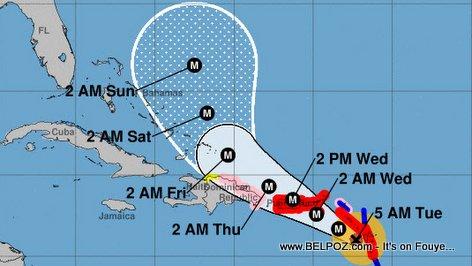 Hurricane Maria - Haiti Forecast