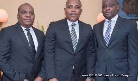 Haiti PNH DGs Godson Orelus, Michel-Ange Gedeon, Mario Andresol