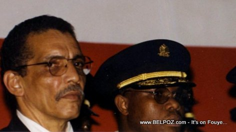 PHOTO: Pierre 'Pierrot' Denize - Former Haiti Chief of Police