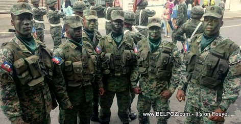 Les Forces Armées d'Haiti - Ready or not here we come!