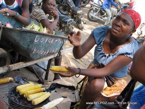 Haiti Street Vendors - Machan Mayi Boukannen