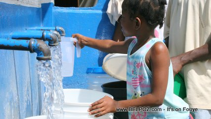 Access to drinking water in Haiti