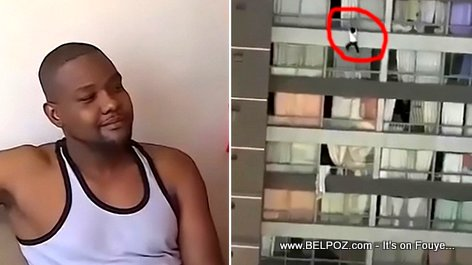 PHOTO: Richard Joseph, the Haitian Hero in Chile who saved a woman who fell nine floors