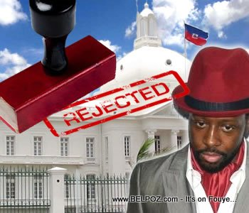 Wyclef Rejected as Candidate of President of Haiti