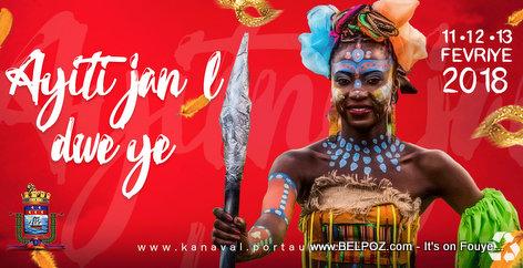 PHOTO: Haiti Carnaval 2018 - Ayiti Jan l Dwe Ye