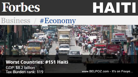 Forbes - Haiti: Best And Worst Countries for Business