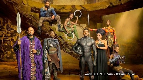 PHOTO: Black Panther Royal Family Poster